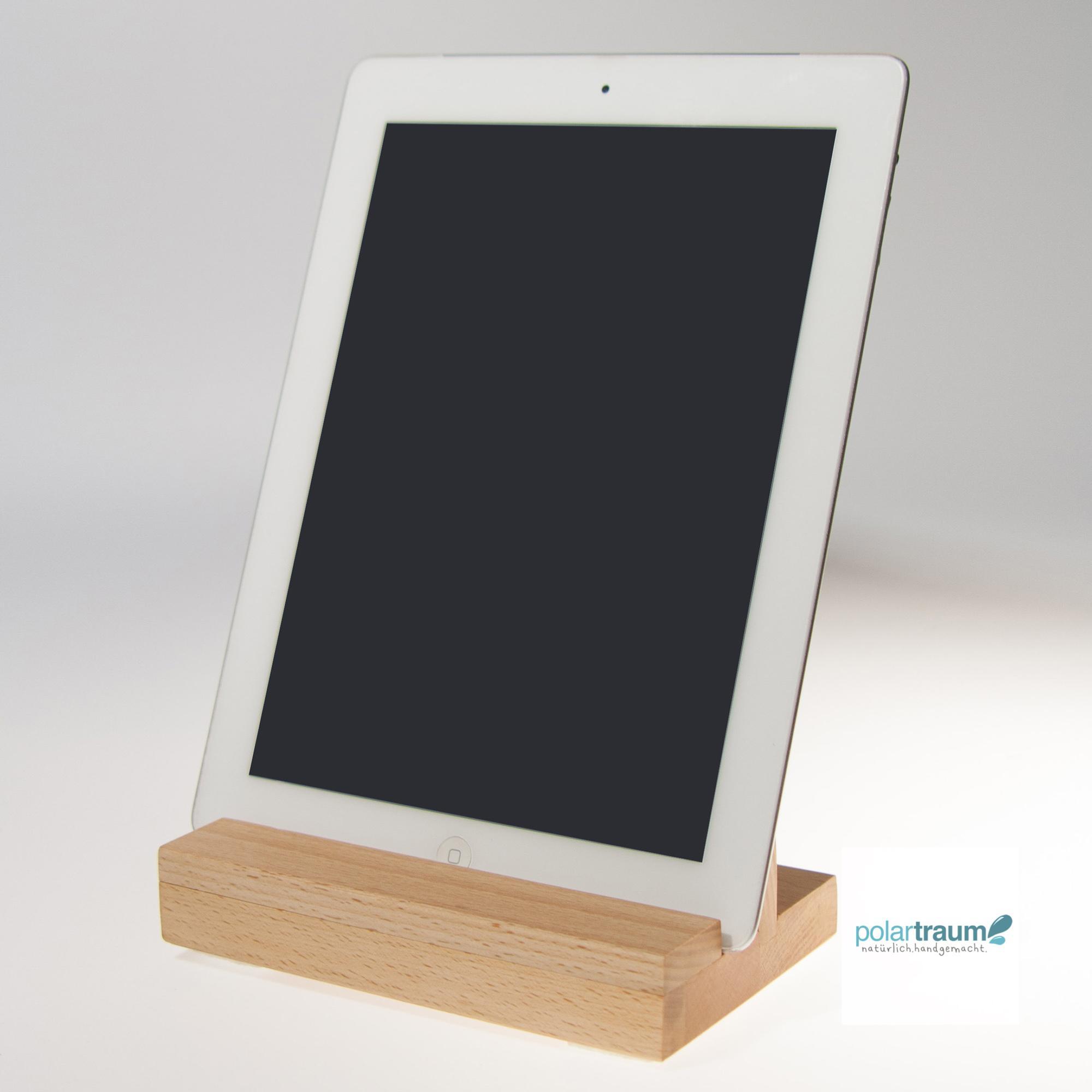 tablet ipad st nder aus fsc buche polartraum. Black Bedroom Furniture Sets. Home Design Ideas